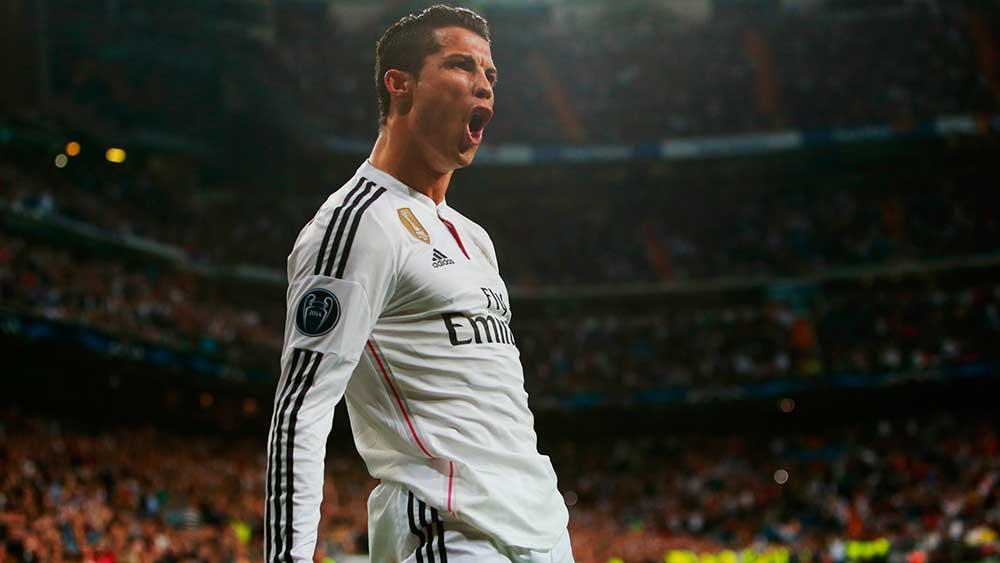 Apostas Liga dos Campeões - Cristiano Ronaldo
