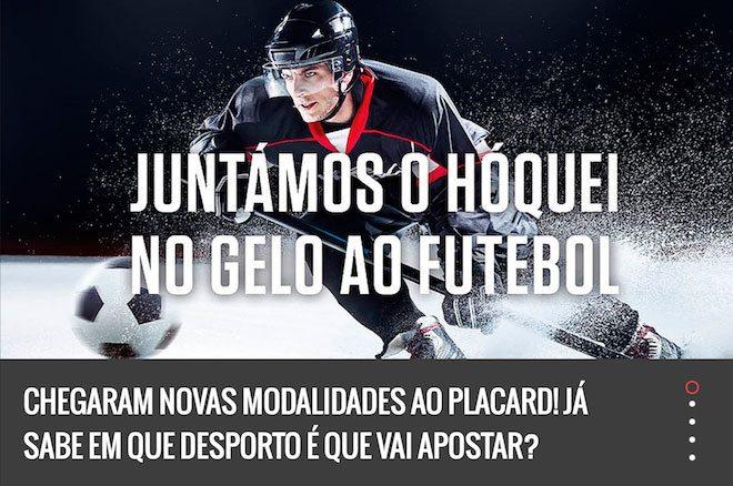 Placard Apostas Desportivas - 7 Modalidades