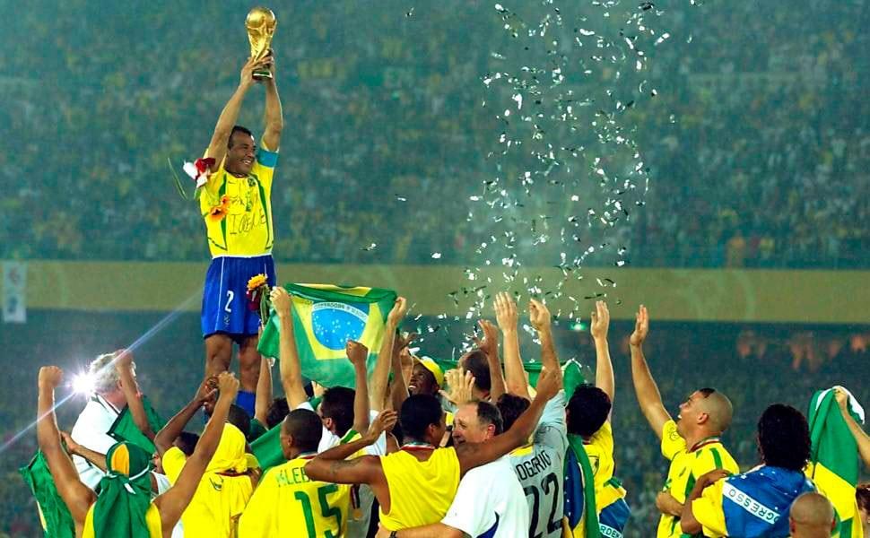 Brasil pentacampeão do Mundo