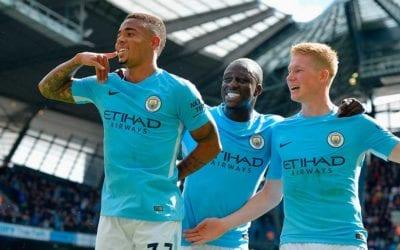 Apostas Liga dos Campeões 17/18: Manchester City favorito!