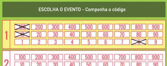 Como jogar Placard apostas: Atenção ao número do evento!