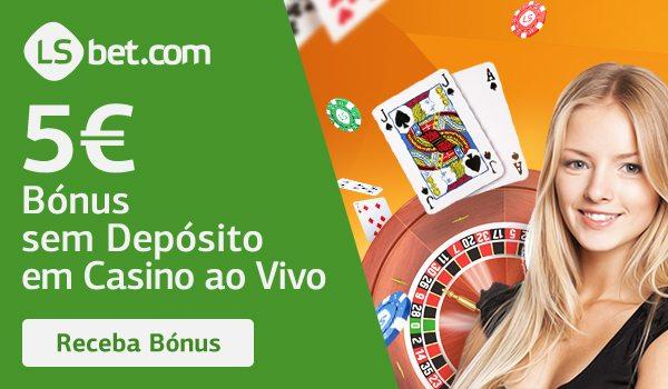 Oferta exclusiva: Casino ao vivo grátis LSBet, sem depósito!