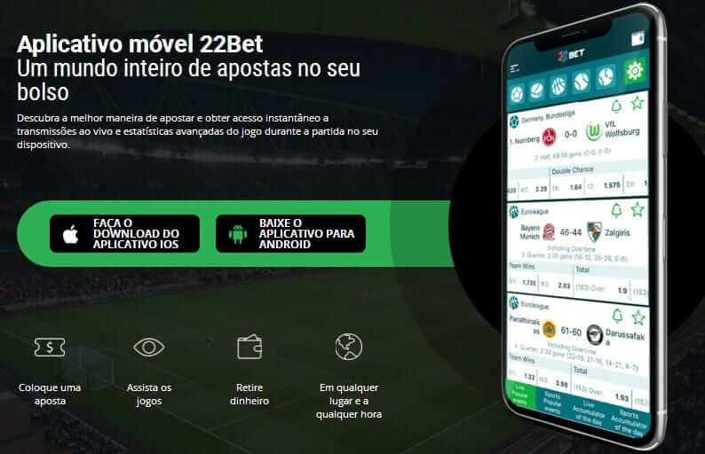App 22bet Portugal