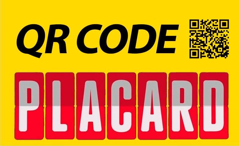 Placard QR Code