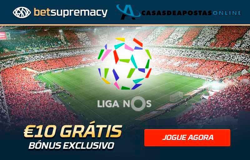 Bónus exclusivo Betsupremacy – 10€ grátis para apostar todas as semanas!