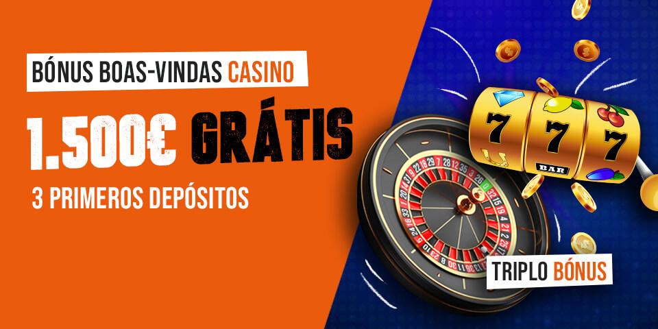 Bónus Casino Luckia Apostas de 1500€