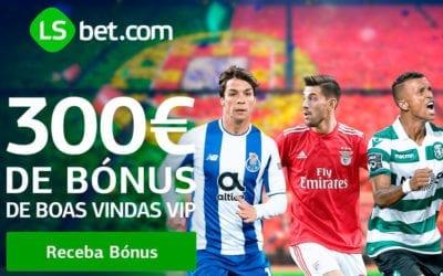 Bónus LSBet – 300 euros de bónus boas-vindas VIP
