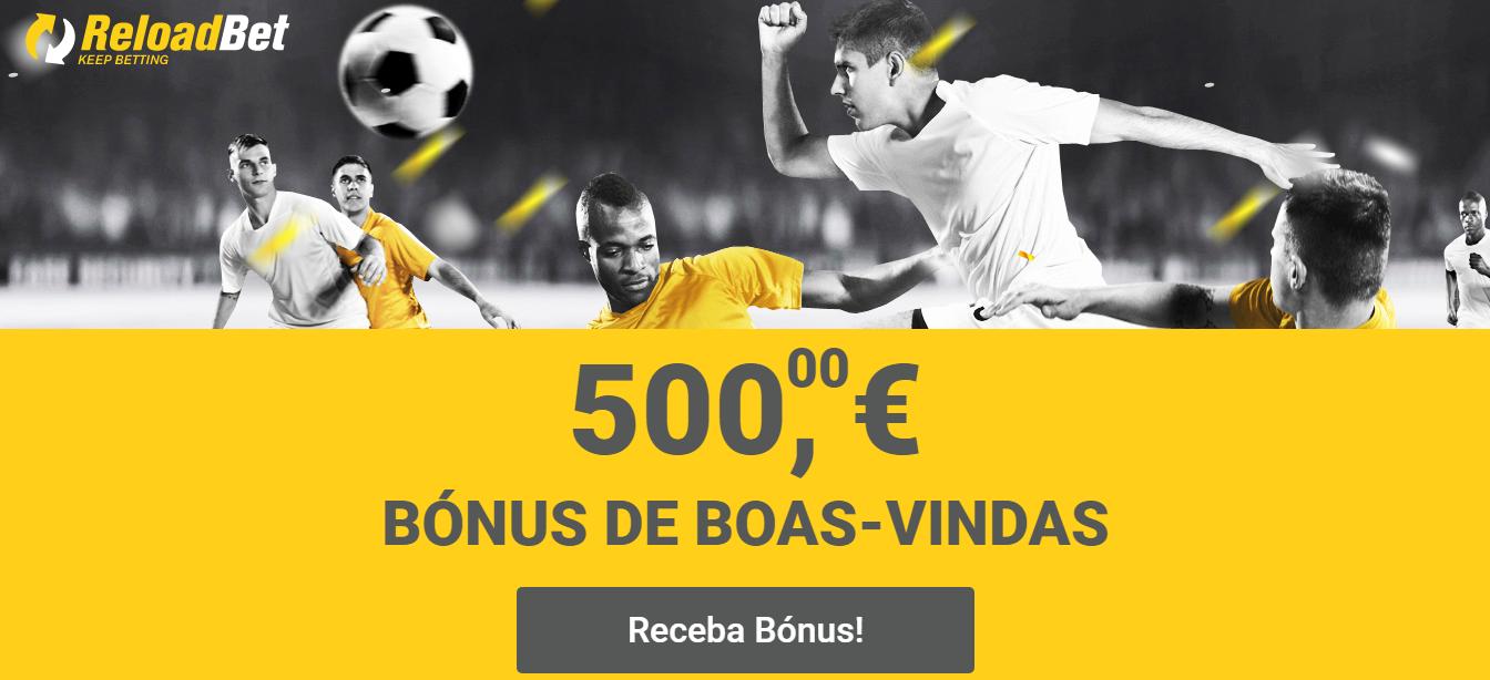 Casas de apostas online | ReloadBet Portugal - Bónus de 100% até 500€