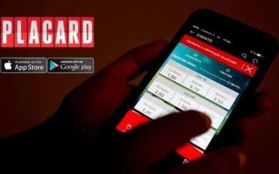 Placard app já é líder
