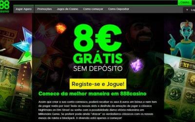 Experimente os melhores jogos no 888 Casino Portugal!