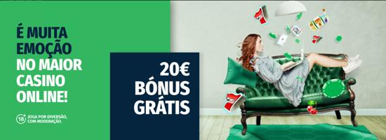 Bónus sem Depósito - Casino Solverde