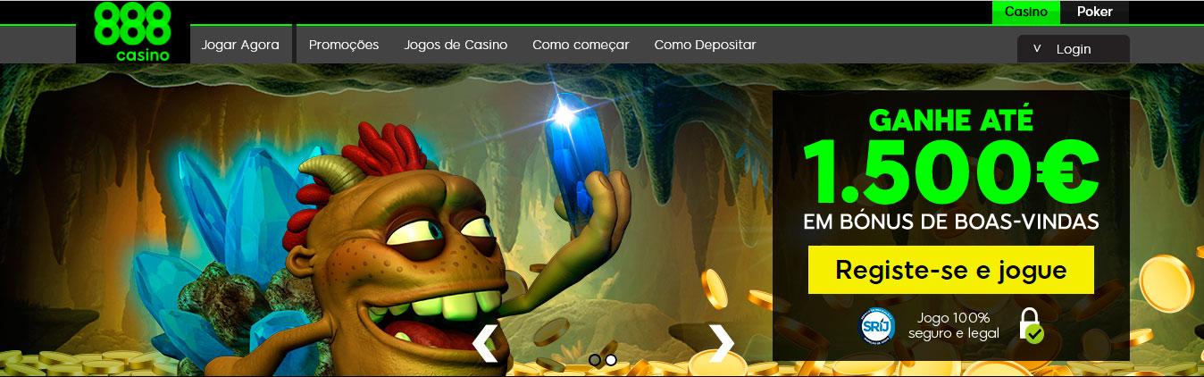 888 Casino Portugal - Bónus de boas-vindas até 1500 euros.