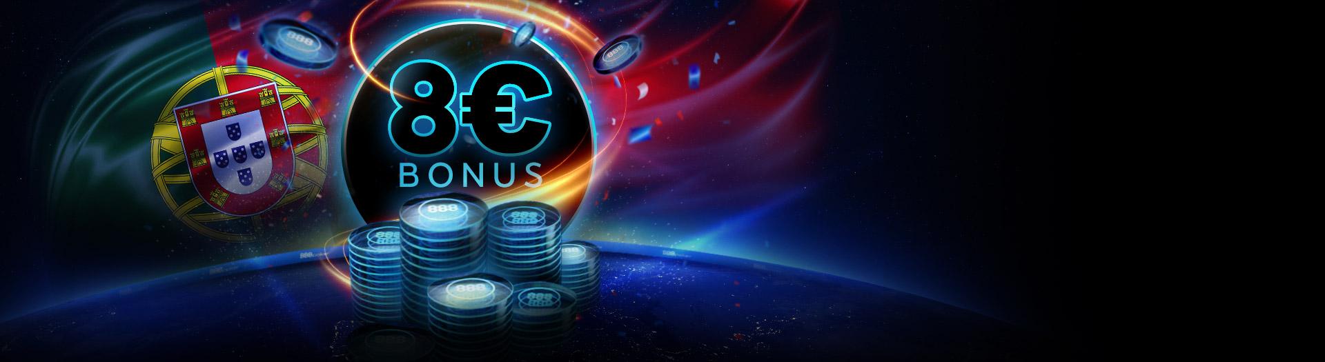 As promoções da 888 Poker Portugal