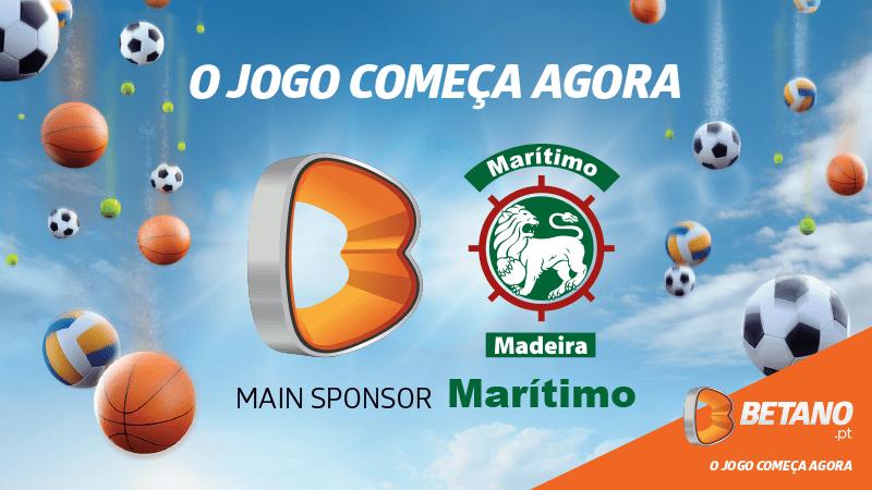 Betano Portugal é o patrocinador oficial do Marítimo!