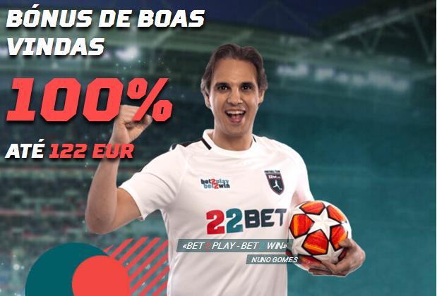 Nuno Gomes é o novo embaixador da 22 bet