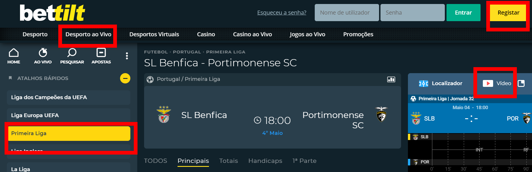 Saiba onde pode ver o Rio Ave Benfica online