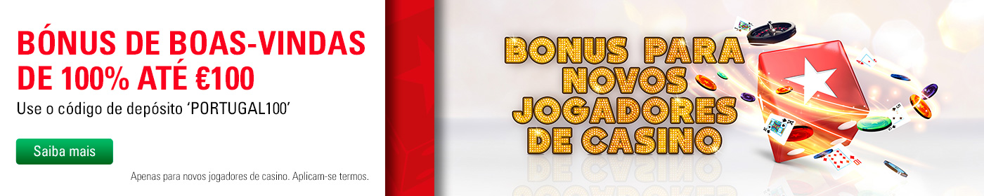 Bónus da Pokerstars Portugal Casino