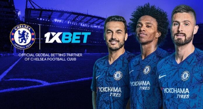 1xbet é parceiro do Chelsea