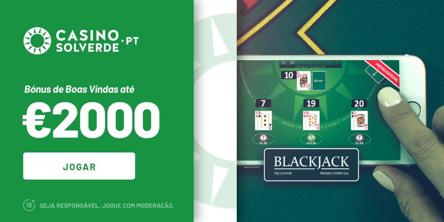 Bónus Casino Solverde até 2000€