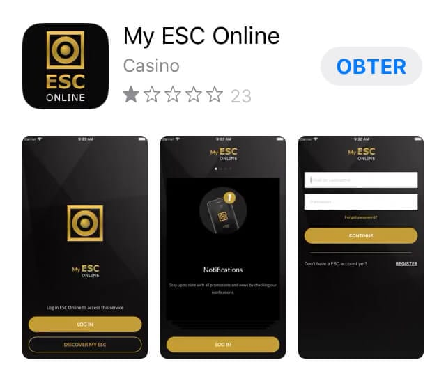 App ESC Onlne Portugal