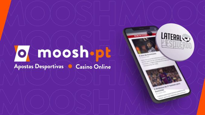 Código promocional Moosh | Receba o valor da sua primeira aposta