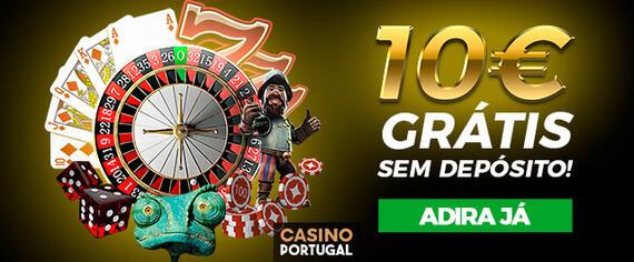 Bónus Casino Portugal: Ganhe um Bónus de Cortesia de 10€