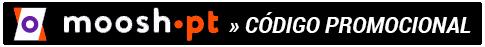 Aproveite o código promocional Moosh