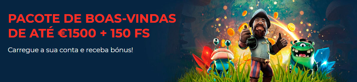 Bónus Megapari Portugal para casino online e jogos de casino: Ganhe até 1500€ e 150 rodadas grátis