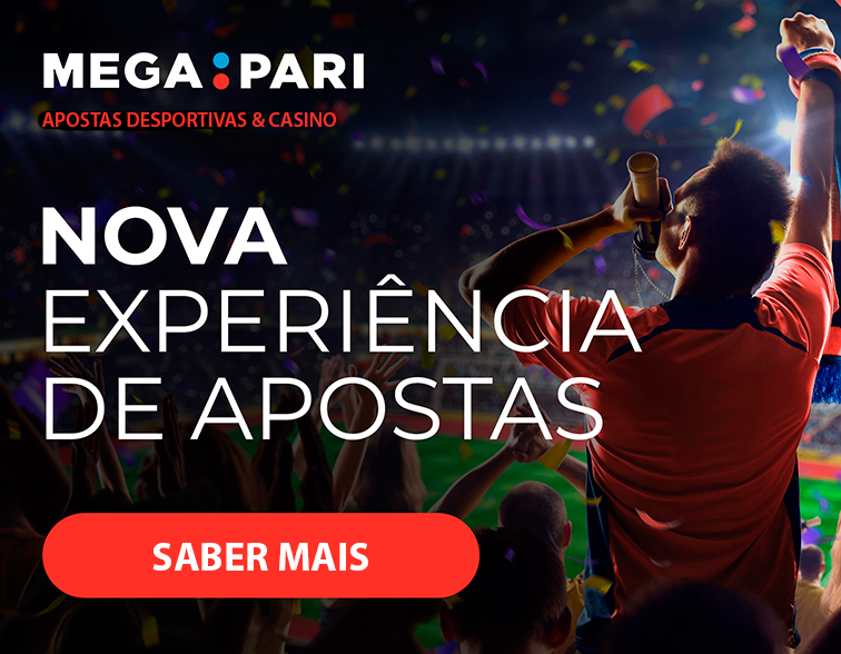 Megapari Portugal: Bónus de 100% até 100€ no primeiro depósito!