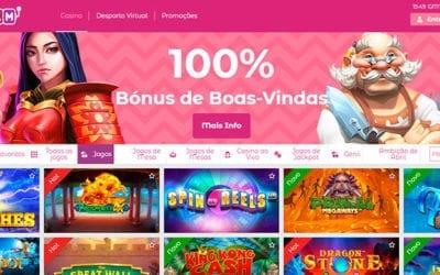 SlottoJam Portugal Casino: Bónus de 100% até 300€