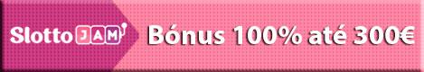 SlottoJam - Bónus 100% até 300€