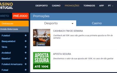 Código promocional Casino Portugal | Apostas sem risco e bónus de cortesia no Casino