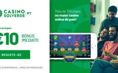 Código promocional Casino Solverde   Bónus sem depósito e um aliciante bónus de registo