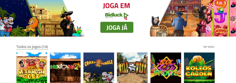 Bidluck | O novo casino online em Portugal