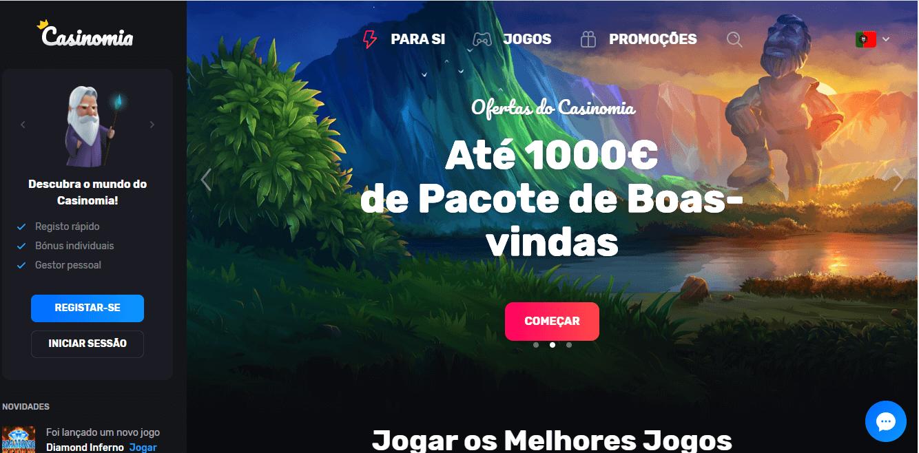 Conheça o Casinomia Portugal