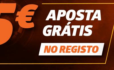 Aproveita o bónus Betano 5 euros grátis!