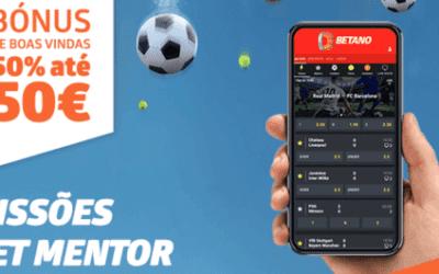 Código promocional Betano | Bónus de boas-vindas para desporto e casino