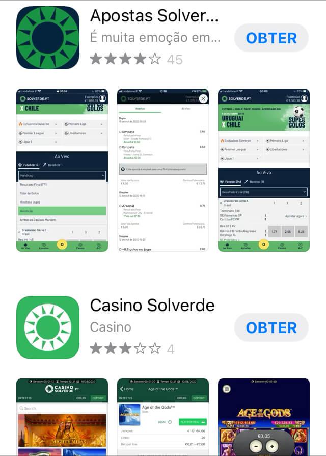 Descarregue a Solverde App