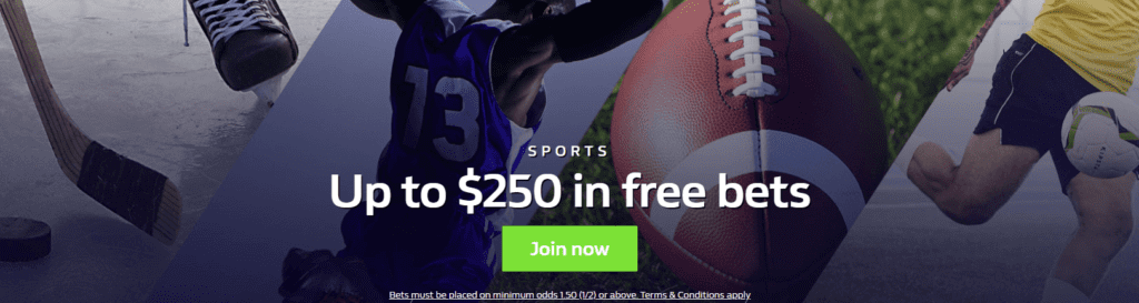 Play at the best sports betting canada sites: William hill!