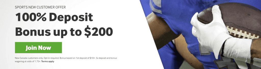 Sports betting Canada: Play at Betway Canada and get betway bonus: 100% up to $200