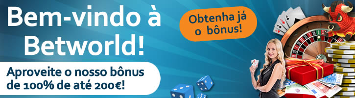 betworld bónus de boas-vindas para casino