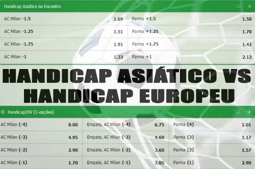 handicap asiático vs handicap europeu