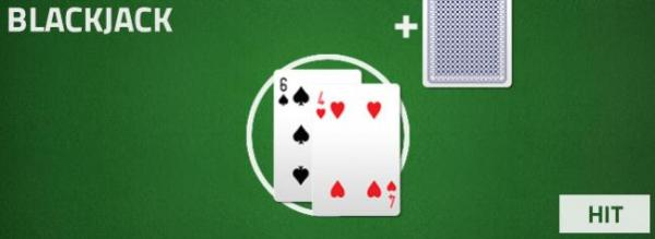blackjack - hit