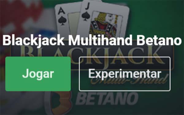 blackjack online grátis - betano