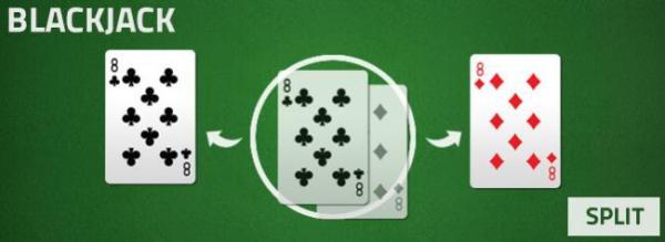 blackjack - split