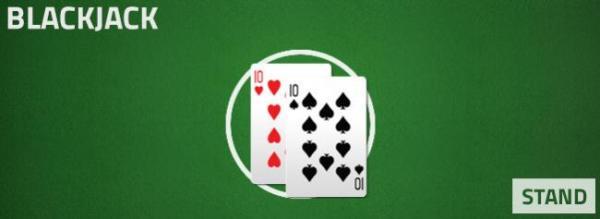 blackjack - stand