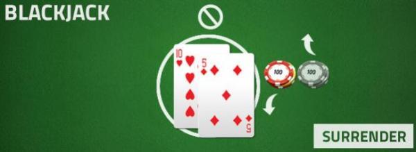 blackjack - surrender