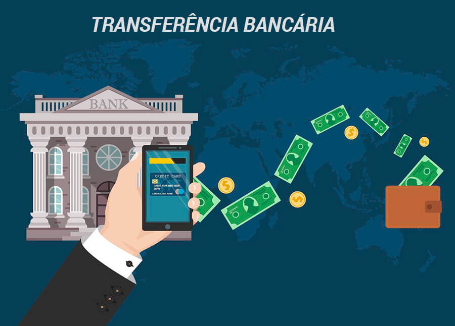 Casas de apostas com transferência bancária