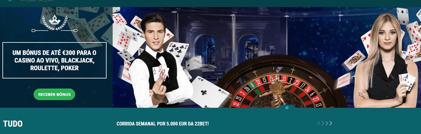 Jogue na 22bet casino
