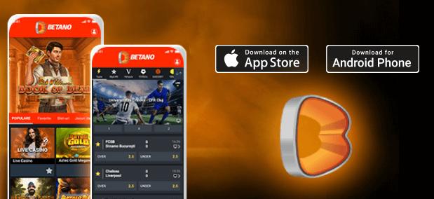 A Betano APP para iOS e Android
